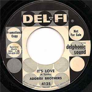 Addrisi Brothers - It's Love / The Old Salt Mine FLAC