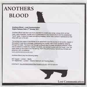 Anothers Blood - Lost Communication FLAC