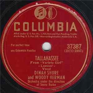 Dinah Shore And Woody Herman - Tallahassee / Natch FLAC
